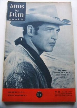 Vintage Magazine 1961 Paul Newman On Cover