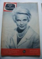 Vintage Magazine 1961 Maria Schell On Cover