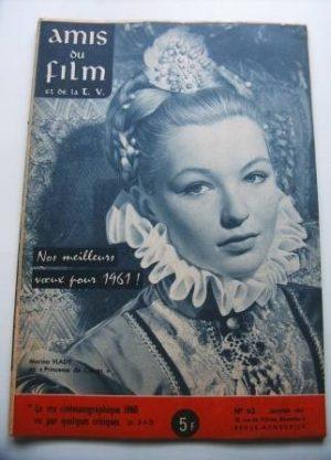 Vintage Magazine 1961 Marina Vlady On Cover