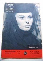 Vintage Magazine 1961 Sophia Loren On Cover