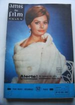 Vintage Magazine 1962 Sophia Loren On Cover