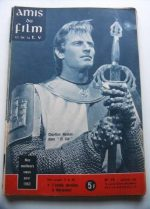 Vintage Magazine 1962 Charlton Heston On Cover