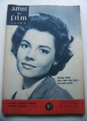 Vintage Magazine 1962 Natalie Wood On Cover