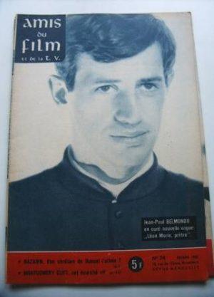 Vintage Magazine 1962 Jean Paul Belmondo On Cover