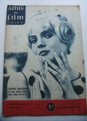 Vintage Magazine 1962 Corinne Marchand On Cover