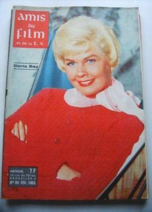 Vintage Magazine 1963 Doris Day On Cover