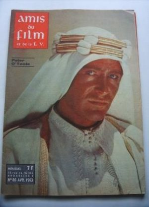 Vintage Magazine 1963 Peter O'Toole On Cover