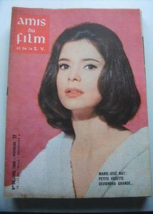 Vintage Magazine 1964 Marie Jose Nat On Cover