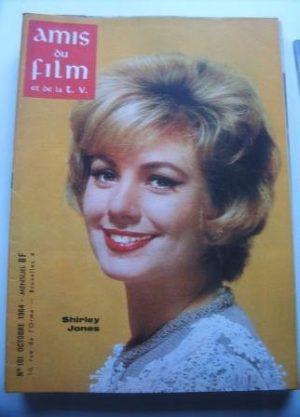 Vintage Magazine 1964 Shirley Jones On Cover
