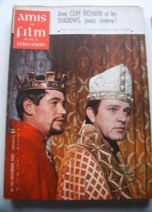 Vintage Mag 1964 Richard Burton Peter O'Toole On Cover