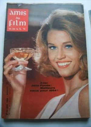 Vintage Magazine 1964 Jane Fonda On Cover