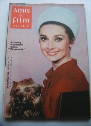 Vintage Magazine 1964 Audrey Hepburn On Cover