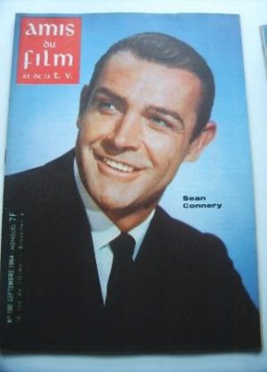 Vintage Magazine 1964 Sean Connery On Cover