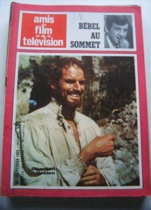 Vintage Magazine 1965 Charlton Heston On Cover