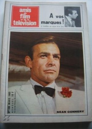 Vintage Magazine 1965 Sean Connery On Cover