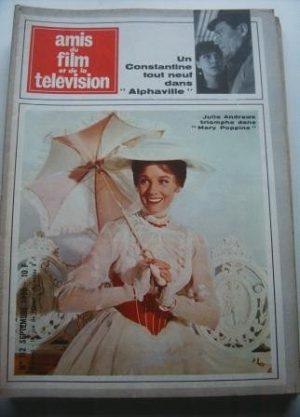 Vintage Magazine 1965 Julie Andrews On Cover