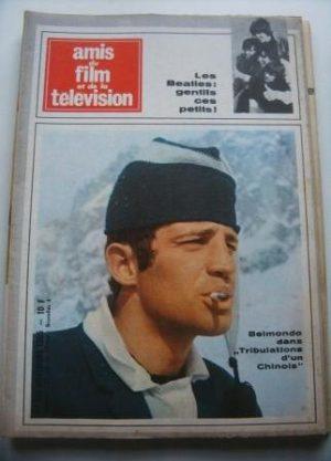 Vintage Magazine 1965 Jean Paul Belmondo On Cover