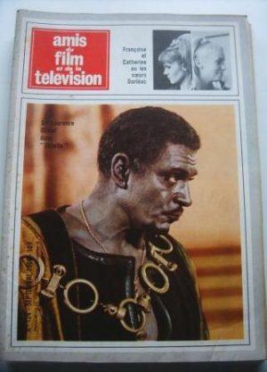 Vintage Magazine 1966 Laurence Olivier On Cover