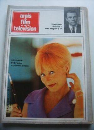 Vintage Magazine 1966 Michele Morgan On Cover