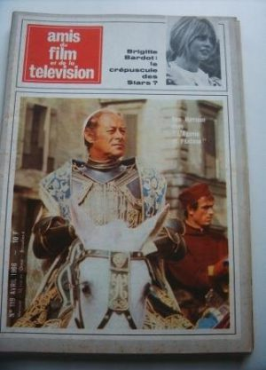 Vintage Magazine 1966 Rex Harrison On Cover