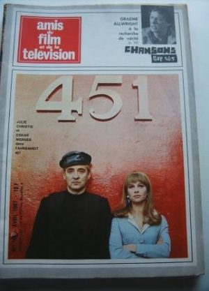 Vintage Mag 1967 Julie Christie Oskar Werner On Cover