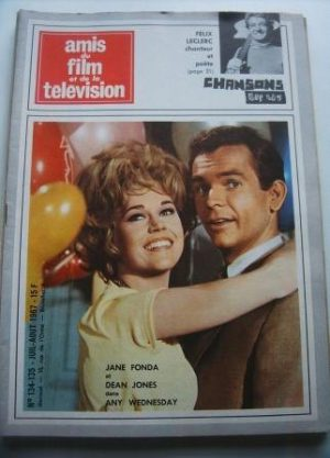 Vintage Magazine 1967 Jane Fonda Dean Jones On Cover