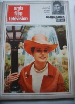 Vintage Magazine 1967 Catherine Spaak On Cover