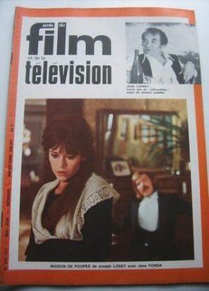 Vintage Magazine 1973 Jane Fonda On Cover