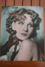 1932 Vintage Magazine Juliette Compton On Front Cover
