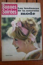 1962 Vintage Magazine Catherine Deneuve Cary Grant