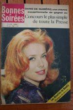 1962 Magazine Catherine Deneuve Marlon Brando Zavatta