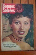 1959 Vintage Magazine Sophia Loren
