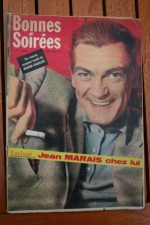 1959 Vintage Magazine Jean Marais