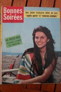1958 Vintage Magazine Claudia Cardinale