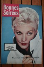 1958 Vintage Magazine Kim Novak