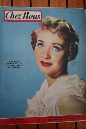 1955 Vintage Jane Powell Abbe Pierre
