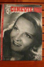 1946 Magazine Madeleine Sologne Mila Parely
