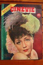 1948 Suzy Delair Tyrone Power Greer Garson Donna Drake