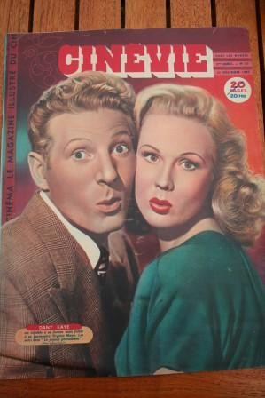 1947 Danny Kaye Virginia Mayo Rita Hayworth Diana Dors