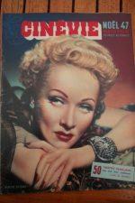 1947 Marlene Dietrich Jane Harker Dumbo Errol Flynn
