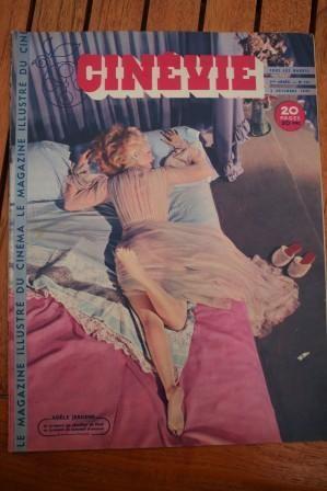 1947 Adele Jergens Bourvil Clark Gable Jean Vinci