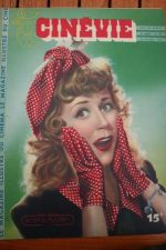 1947 Suzy Delair Susan Hayward Joan Crawford