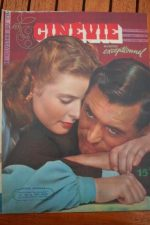 1947 Ingrid Bergman Cary Grant Rita Hayworth Valli