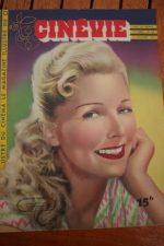 1947 Magazine Simone Renant Jane Harker Adele Mara