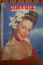 1947 Magazine Susan Hayward Virginia Mayo