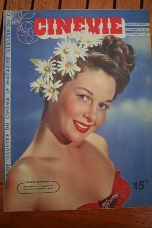 1947 Magazine Susan Hayward Virginia Mayo