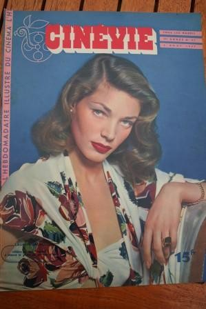 1947 Lauren Bacall Betty Grable Michel Simon