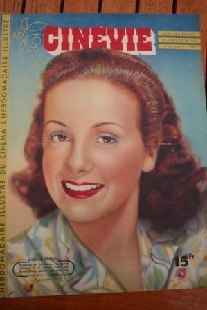 1947 Mag Giselle Pascal Joan Bennett Gerard Philipe