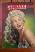 1947 Magazine Lana Turner Andrea King Renee Randall
