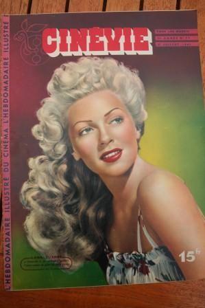 1947 Magazine Lana Turner Andrea King Renee Randall